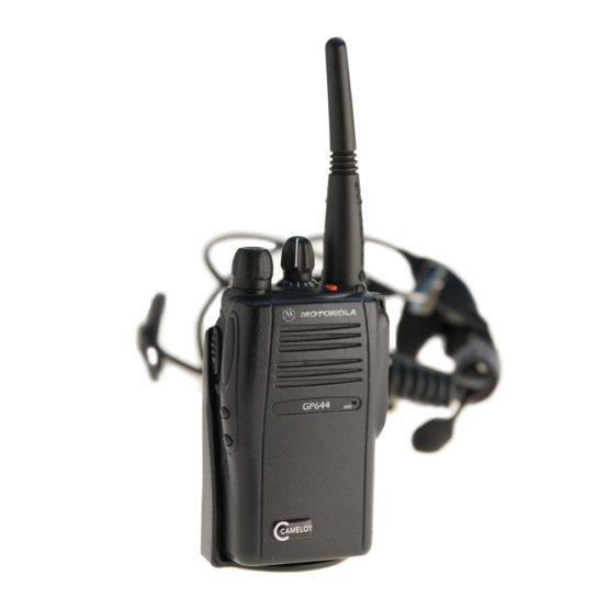 Walkie Talkie Motorola GP 644 – Set mit HeadsetAkkuLadegerät