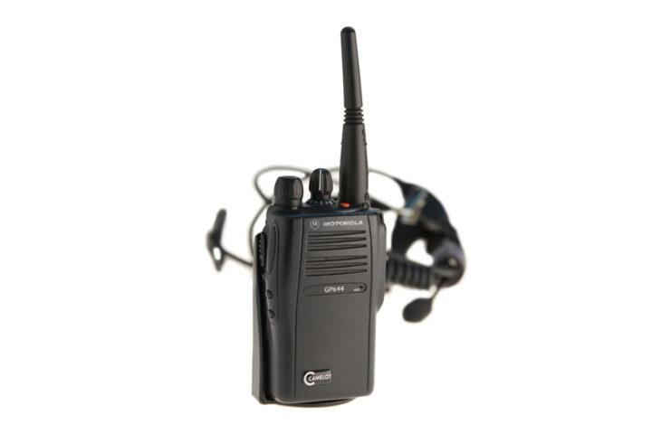 Walkie Talkie Motorola GP 644 – Set mit HeadsetAkkuLadegerät