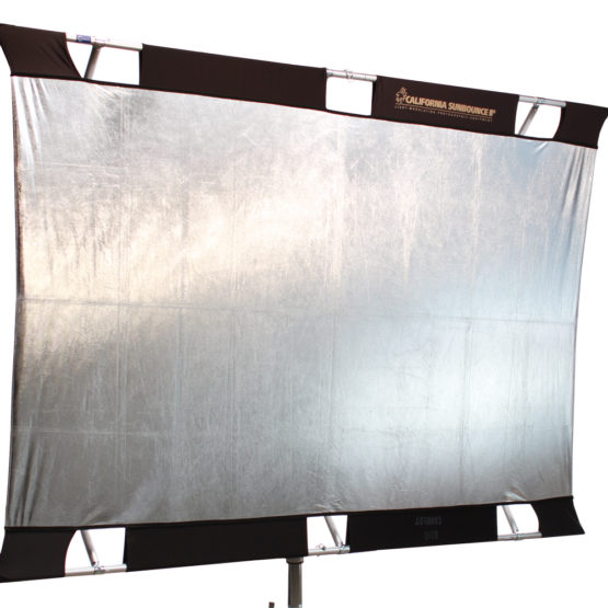 California Sunbounce Pro 130 x 190cm SilberWeiß