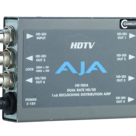 AJA HD 10DA 1x6 HD_SD_SDI Verteiler