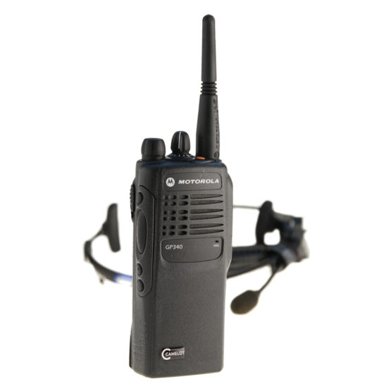 Walkie Talkie Motorola GP 340 – Set mit HeadsetAkkuLadegerät