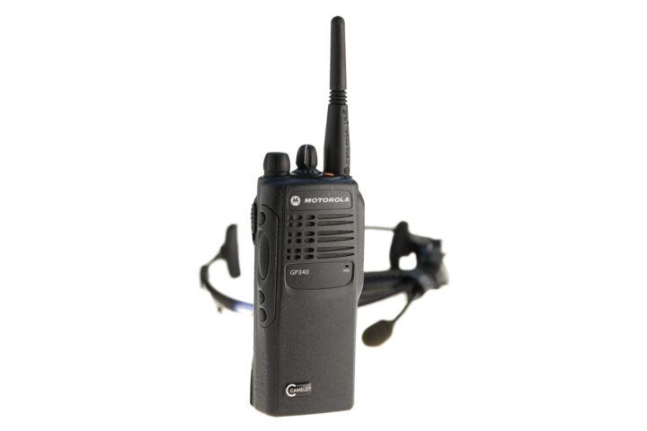 Walkie Talkie Motorola GP 340 – Set mit HeadsetAkkuLadegerät