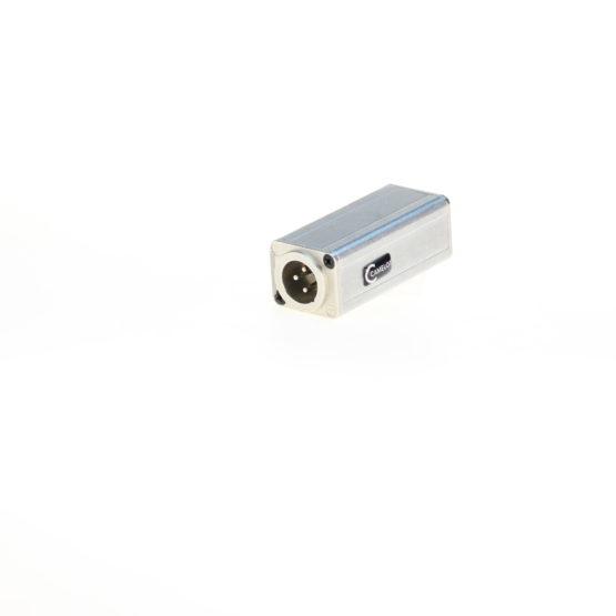 AES-Adapter XLR 3pol m 110 Ohm - BNC w 75 Ohm
