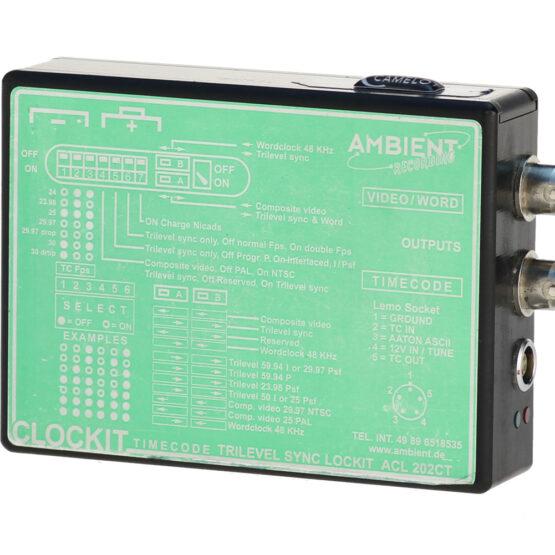 Clockit ACL 202 Trilevel Timecode-Synchronizer
