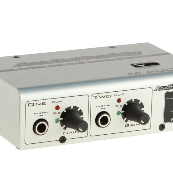 M-Audio AudioBuddy Mikrofonvorverstärker, zweikanalig