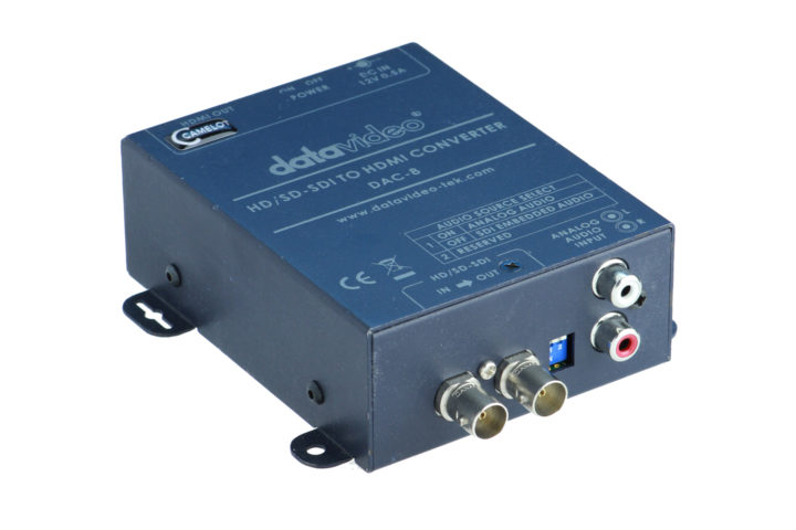 DataVideo DAC-8 Wandler HD-SD SDI to HDMI