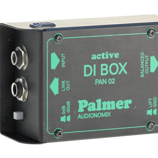 DI-Box aktiv - 1-Kanal - Palmer Pan 02