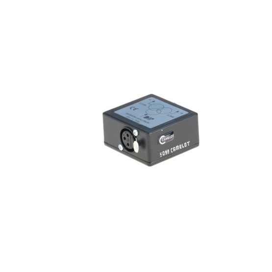 AES_EBU Splitbox passiv XLR 3pol 110 Ohm 1zu2