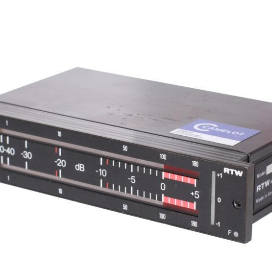 Peakmeter RTW 1119E (analog)