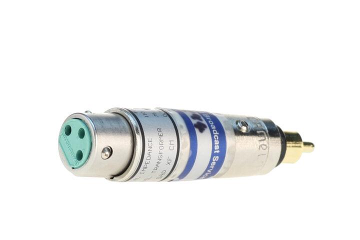 AES-SPDIF-Adapter mit Pegelanpassung, 110-75 Ohm, 0,5V