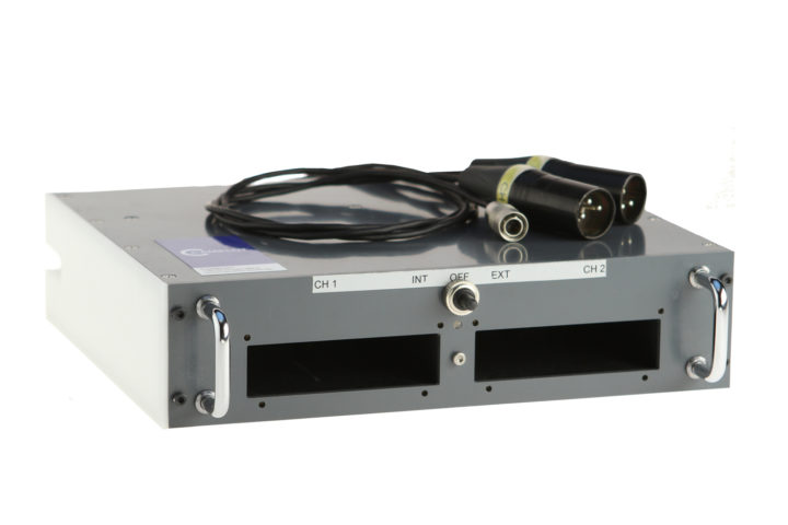 passives Einbaurack für zwei Sennheiser Empfänger EK3241