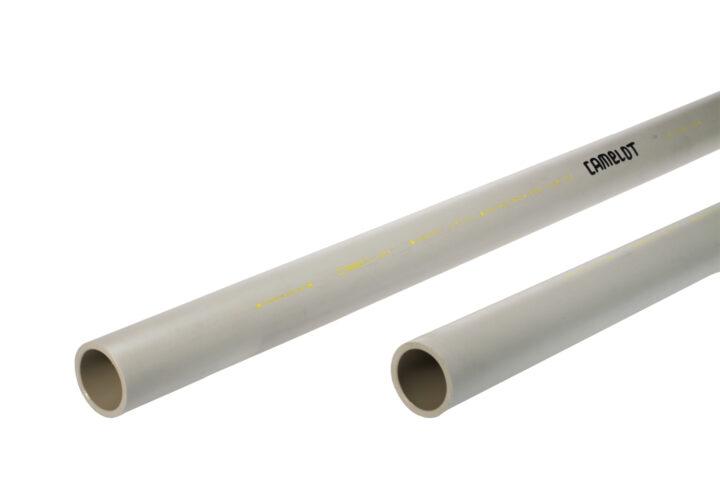 Kunststoffrohr Schiene 0,5 m Paar