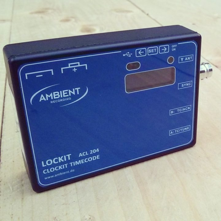 Ambient Lockit Clockit Timecode ACL 204