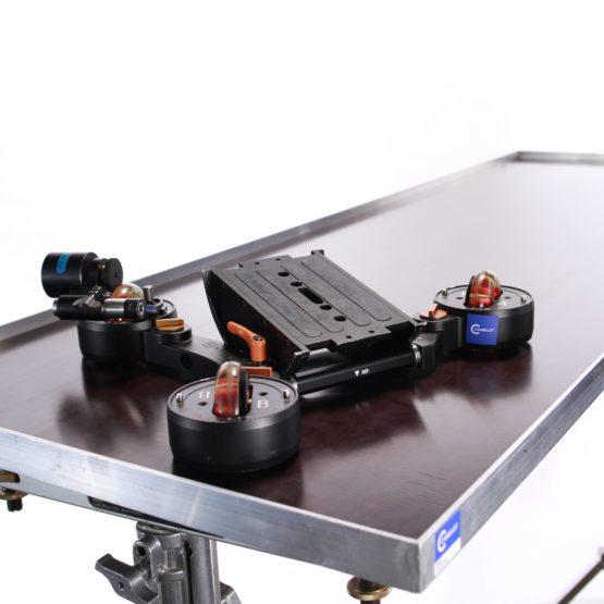 P+S Mini Skater SET inkl. Levelling Support, Fahrplatten & Skater Smooth